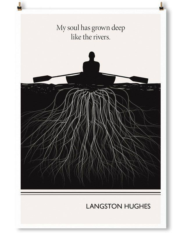"""langston hughes the negro speaks of Langston hughes wrote and published his poem """"the negro speaks of rivers"""" at the age of nineteen after his high school graduation he was inspired by the beauty of the mississippi river as he."""